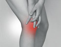 膝が痛いイメージ